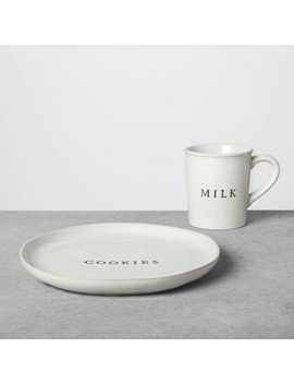 "<Span><Span>Cookie Plate & Milk Set Sour Cream   Hearth & Hand</Span><Br><Span>With Magnolia</Span></Span><Span Style=""Position: Fixed; Visibility: Hidden; Top: 0px; Left: 0px;"">…</Span> by Hearth & Handwith Magnolia…"