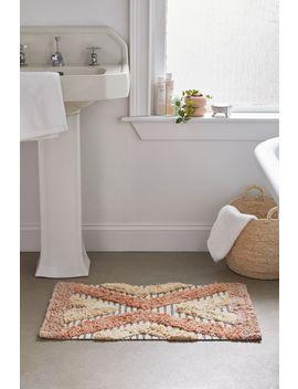 Loren Woven Bath Mat by Urban Outfitters