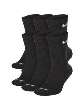 Nike 6 Pack Everyday Cushion Crew Socks by Foot Locker