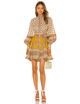 Bonita Buttoned Dress by Zimmermann