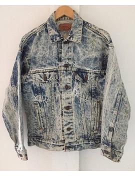 Levis Trucker Denim Jacket Stone Wash by Levi's Vintage Clothing  ×