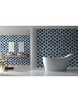 Spot Wallpaper, Spot Removable Wallpaper, Blue Mural, Removable, Wall Paper Removable, Wallpaper   A141 by Etsy