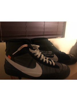 Off White X Nike Blazer Grim Reaper by Nike  ×  Off White  ×