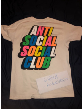 Anti Social Club T Shirt Colors Neon by Anti Social Social Club  ×