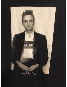 Vintage Johnny Cash Gildan T Shirt Big Logo Black Size S by Vintage  ×  Gildan  ×