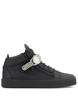 Watch Detail Sneakers by Giuseppe Zanotti