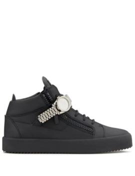 Watch Detail Sneakers by Giuseppe Zanotti