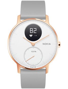 Withings / Nokia Steel Hr Smart Watch   36mm, Rose Gold/Grey by Withings / Nokia