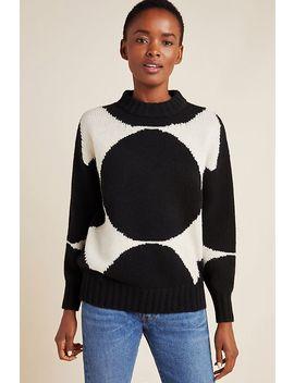 Marimekko Valkeus Wool Sweater by Marimekko