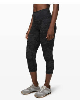 "Wunder Under Crop (High Rise) Full On Luxtreme 21""Full On™ Luxtreme by Lululemon"