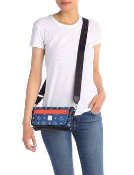Logo Crossbody Bag by Mcm