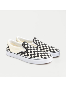 Vans®Slip On Sneakers In Checkerboard by Vans