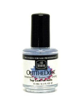 Inm Out The Door Top Coat, 0.5 Oz by Inm