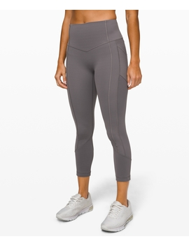"All The Right Places Crop Ii 23""Full On™ Luxtreme by Lululemon"
