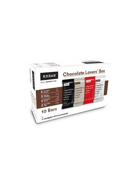Rxbar Chocolate Lovers Protein Bars   10ct by Rxbar
