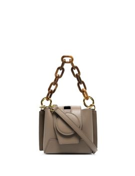 Daria Chunky Chain Crossbody Bag by Yuzefi