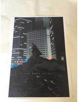 Batman The Dark Knight Movie Poster Large Size by Etsy