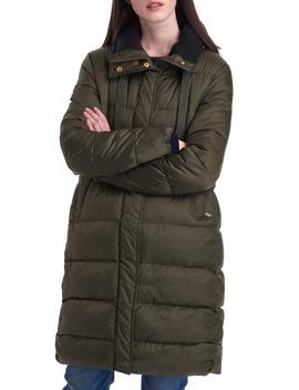 Weatheram Longline Puffer Coat by Barbour