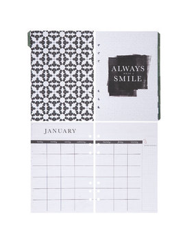 Farmhouse Non Dated Planner Inserts   12 Month by Hobby Lobby
