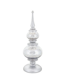 Mercury Glass Finial With Lights   Small by Hobby Lobby