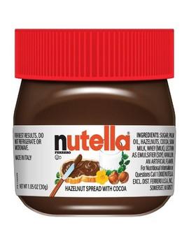 Nutella Holiday Mini Chocolate Hazelnut Spread   1oz by Nutella