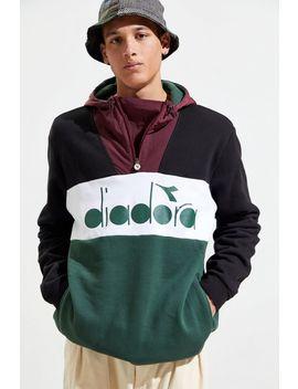 Diadora Colorblocked Half Zip Jacket by Diadora