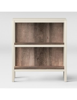 "36.2"" 2 Shelf Hadley Bookcase Shell   Threshold™ by Threshold"