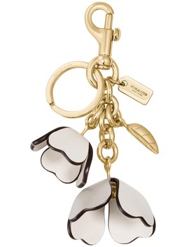 Essential Tea Rose Bag Charm by Coach