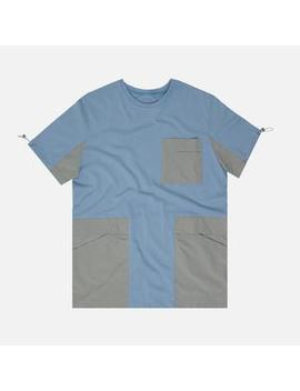C2 H4 Panelled Pockets Tee by C2 H4