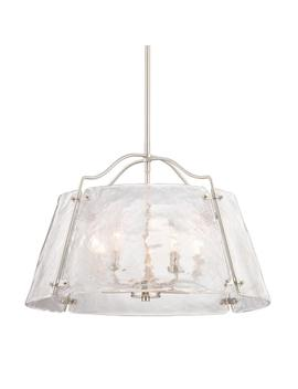 Archdale 5 Light Brushed Nickel Pendant by Home Decorators Collection