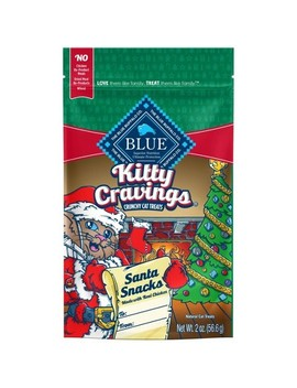 Blue Buffalo Kitty Cravings Crunchy Cat Treats   2oz by Blue Buffalo