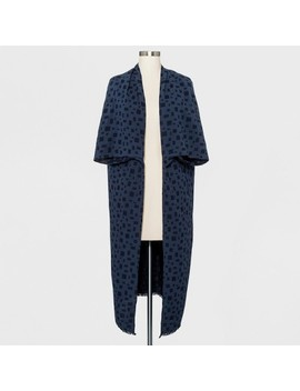 Women's Cocoon Kimono   Universal Thread™ Navy by Universal Thread