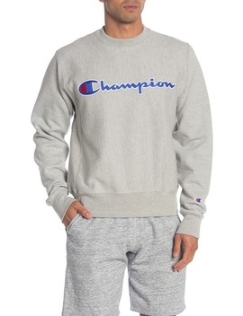 Life Fleece Crew Neck Sweatshirt by Champion