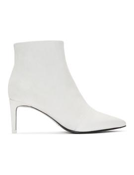 White Suede Beha Boots by Rag & Bone