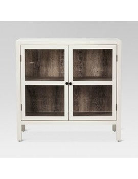 Hadley 2 Door Accent Cabinet Shell   Threshold™ by Shop This Collection