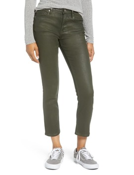 Stevie Coated Crop Straight Leg Jeans by Vigoss