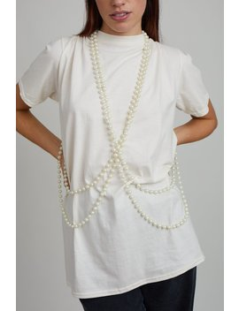Pearl String T Shirt by The Ragged Priest