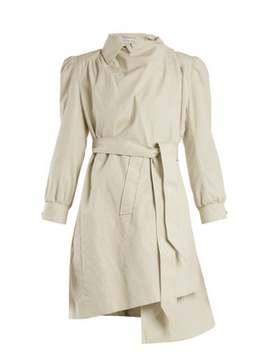 Pulled Puff Sleeve Coat by Balenciaga
