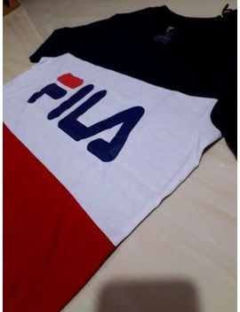 *New* Fila Men's Eagle Logo Men's Short Sleeve Crew Neck T Shirts T Shirt by Fila