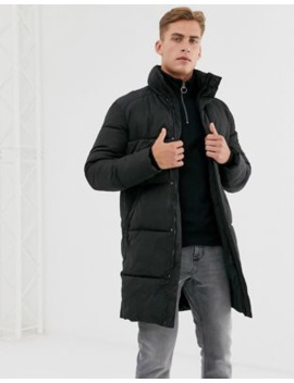 Selected Homme Thermore Long Puffer Park With Recycled Lining by Selected Homme