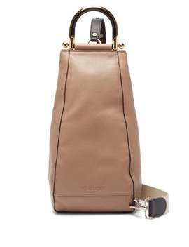Wedge Leather Shoulder Bag by Jw Anderson