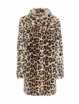 Meteo Leopard Print Fur Coat by Yves Salomon