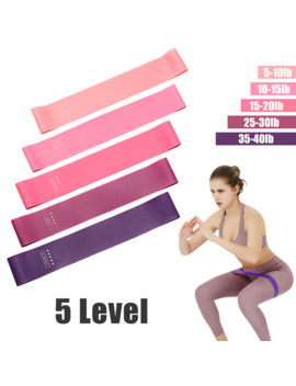 Yoga Crossfit Resistance Bands 5 Level Rubber Training Pull Rope For Sports Pilates Expander Fitness Gum Gym Workout Equipment by Ali Express.Com
