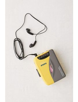 Retro Sport Portable Cassette Player by Urban Outfitters