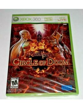 Kingdom Under Fire: Circle Of Doom (Microsoft Xbox 360, 2008) Complete Sealed by Ebay Seller