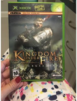 Kingdom Under Fire: The Crusaders (Microsoft Xbox, 2004) Complete W/ Manual by Ebay Seller