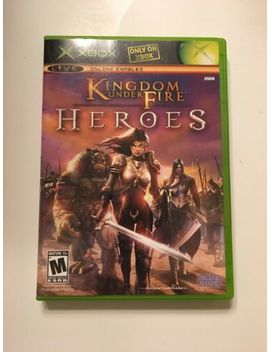 Kingdom Under Fire Heroes Microsoft Xbox Game Free Shipping by Ebay Seller