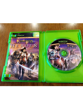 Kingdom Under Fire Crusades & Heroes W/Manuals Xbox Bundle Lot Discs Near Mint by Ebay Seller