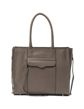 Side Zip Leather Mab Tote by Rebecca Minkoff