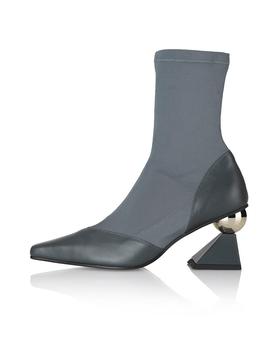 Darkgrey Stella Socks Boots by Yuul Yie